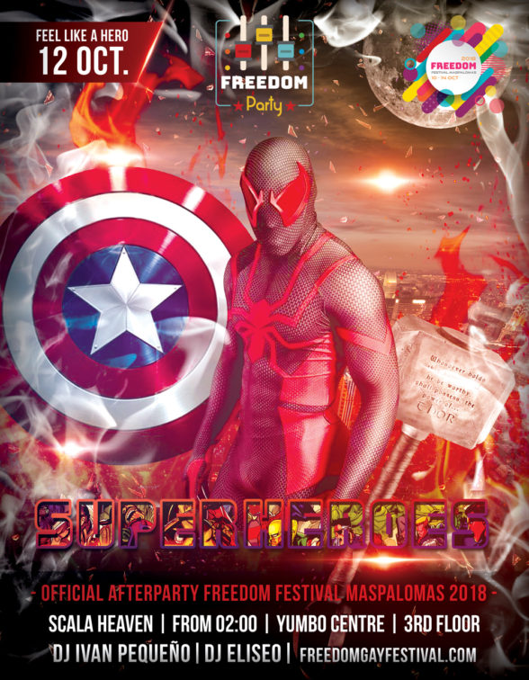 FREEDOM Party Superheroes